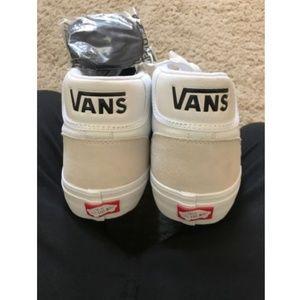 e3395557de Vans Shoes - Vans Mid Skool Pro Skate Shoes White  Black